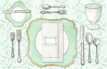 Load image into Gallery viewer, The Perfect Place Setting Placemat - a collaboration with Etiquette with Amy