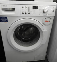 Load image into Gallery viewer, Bosch WAQ283S0GB Exxcel VarioPerfect 8kg 1400 Spin Freestanding Washing Machine