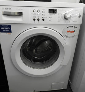 Bosch WAQ283S0GB Exxcel VarioPerfect 8kg 1400 Spin Freestanding Washing Machine