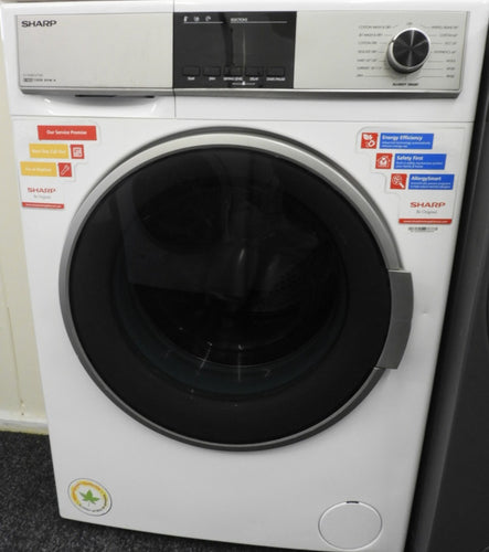 SHARP ES-HDB8147W0 8/6 kg 1400 rpm Washer Dryer 60cm - White