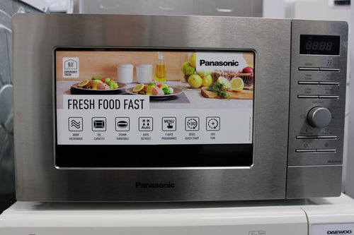 Panasonic NN-S29KSMBPQ 20L 800W Microwave Oven Stainless Steel RRP£129.00