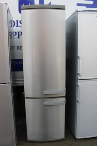 John Lewis&Partners JLSS2019 285L Fridge 78L Freezer, A+, 60cm, Stainless Steel