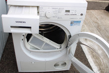 Load image into Gallery viewer, Siemens WT46E387GB Freestanding Condensor Dryer C rated 7 kg White