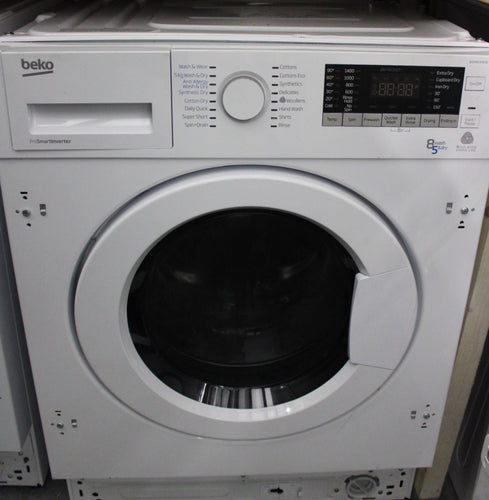BEKO Pro WDIX8543100 Integrated 8/5kg 1400rpm A rated Washer Dryer White RRP£479