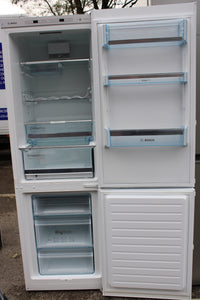 Bosch KGE36BW41G 215L Fridge 89L Freezer, A+++, 60cm, White