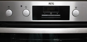 AEG SurroundCook DUB331110M Electric Built-under Double Oven A rated Stainless Steel RRP£695