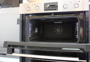 Zanussi ZOF35802XK Double Built Under Electric Oven RRP£599