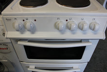 Load image into Gallery viewer, Swan Sx2011W 50Cm Wide Freestanding Twin Cavity Electric Cooker White RRP£259.99