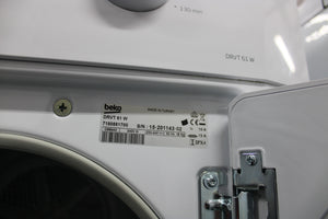 LG F1222TD Freestanding Front-Load 8 kg 1200 RPM Washing Machine White