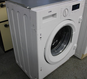 LOGIK LIW714W15 Integrated Washing Machine A+++ 7kg White