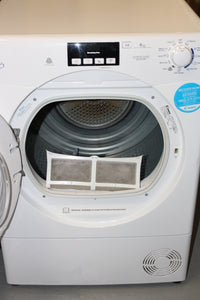 CANDY GVCD91WB-80 9kg B Rated 2 Temps Freestanding Condenser Tumble Dryer in White