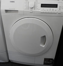 Load image into Gallery viewer, AEG T75280AC 8kg Freestanding Condenser Tumble Dryer - White