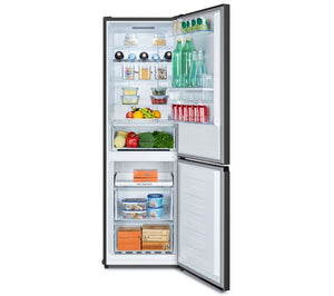 HISENSE RB390N4WB1 60/40 frost free 207L Fridge 93L Freezer A+ Black RRP£369.99