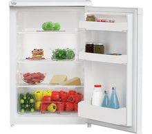 Load image into Gallery viewer, BEKO LXS553W Undercounter Fridge 130 litres A+ 38dB(A) White