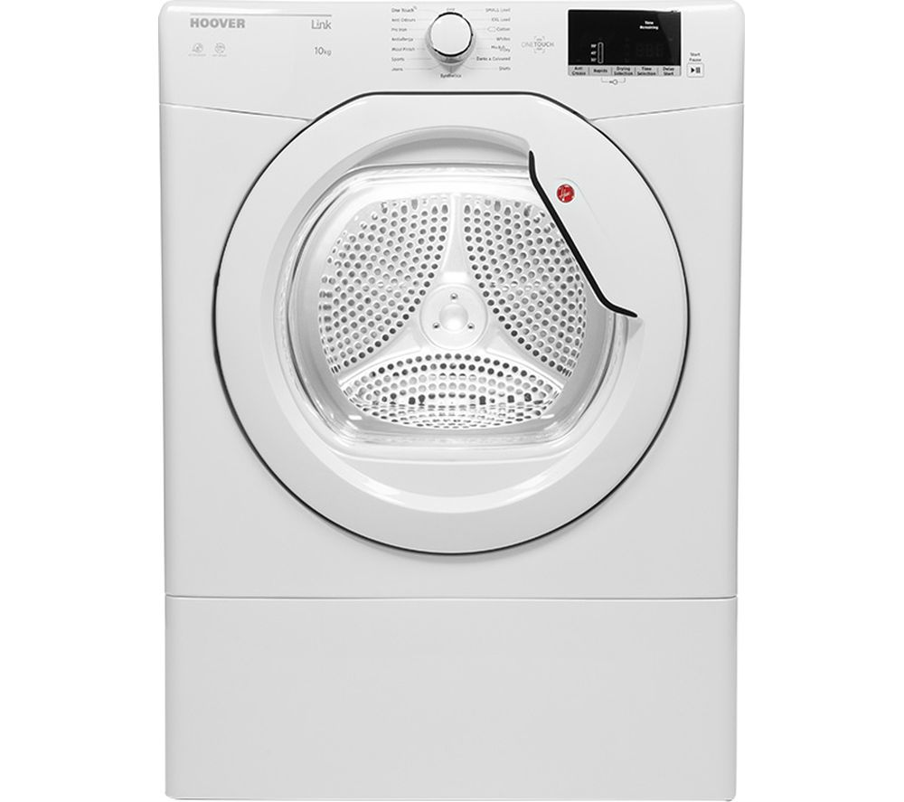 HOOVER Link HLV10DG-80 NFC 10 kg Vented Tumble Dryer C rated White White