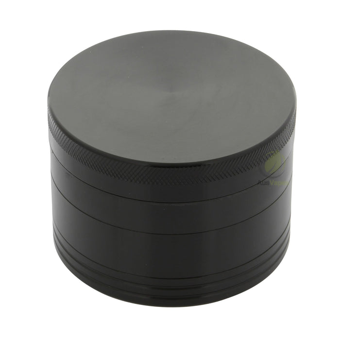 Black Aluminium Grinder 76mm - 4 pc.
