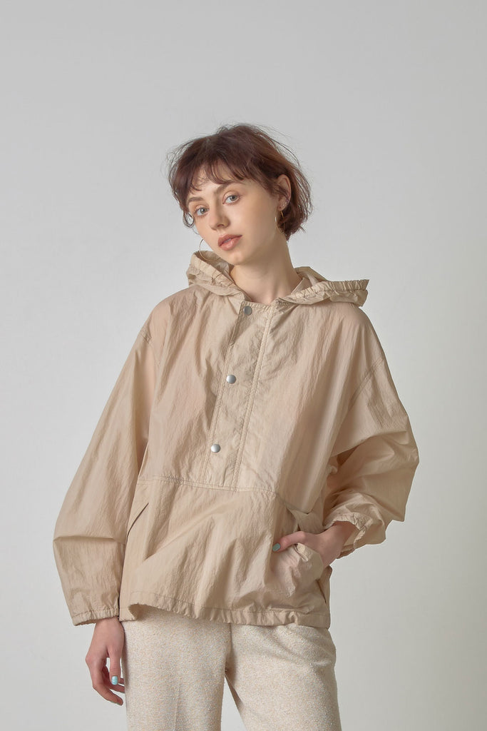 Sheer anorak