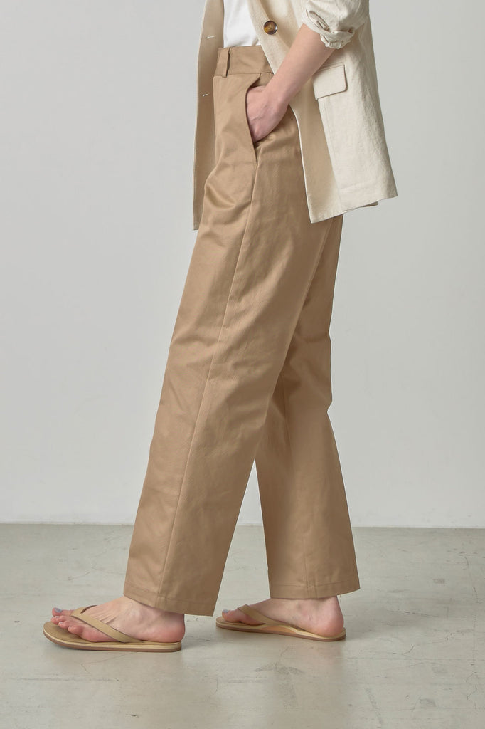 High waist work pants