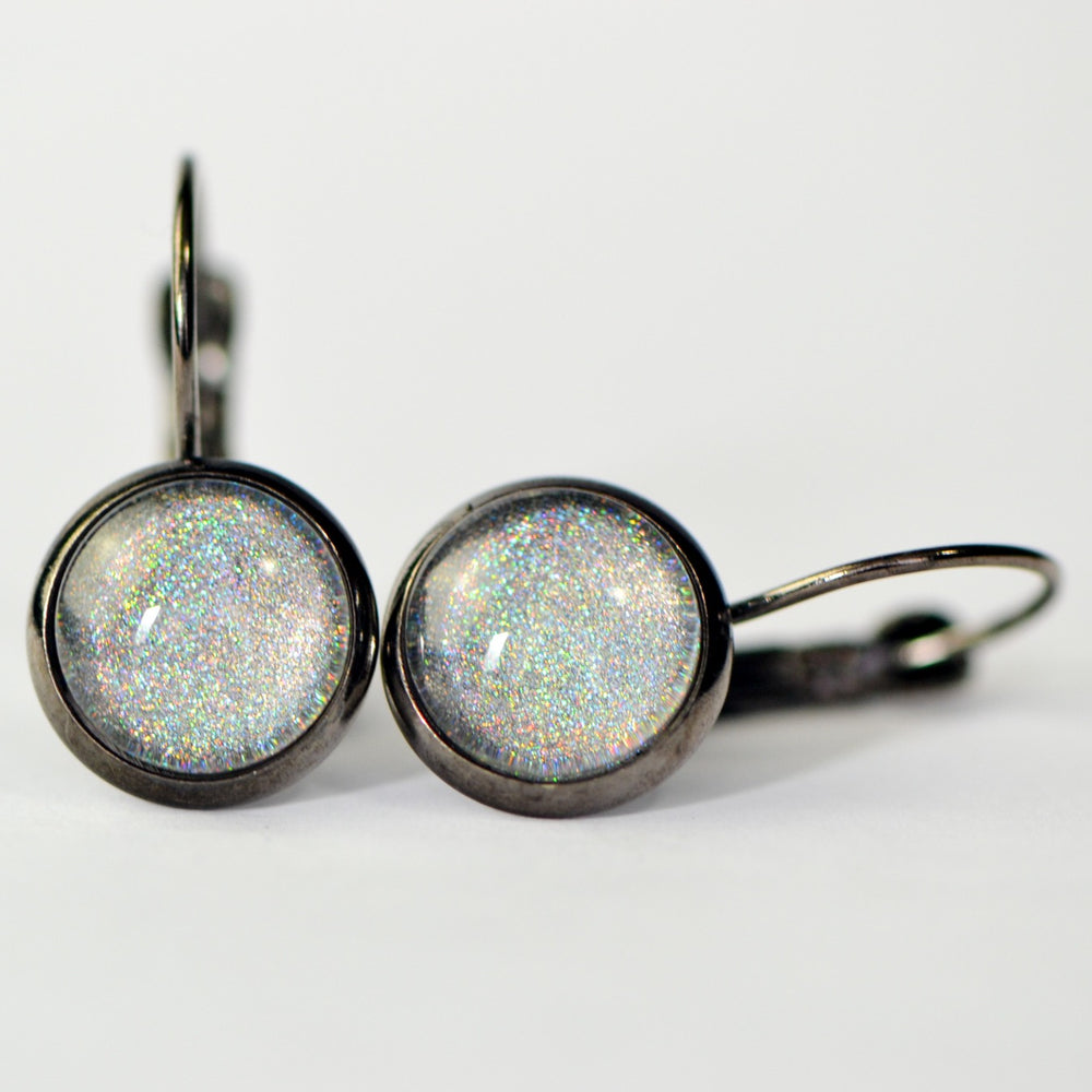 Rainbow Holographic Earrings