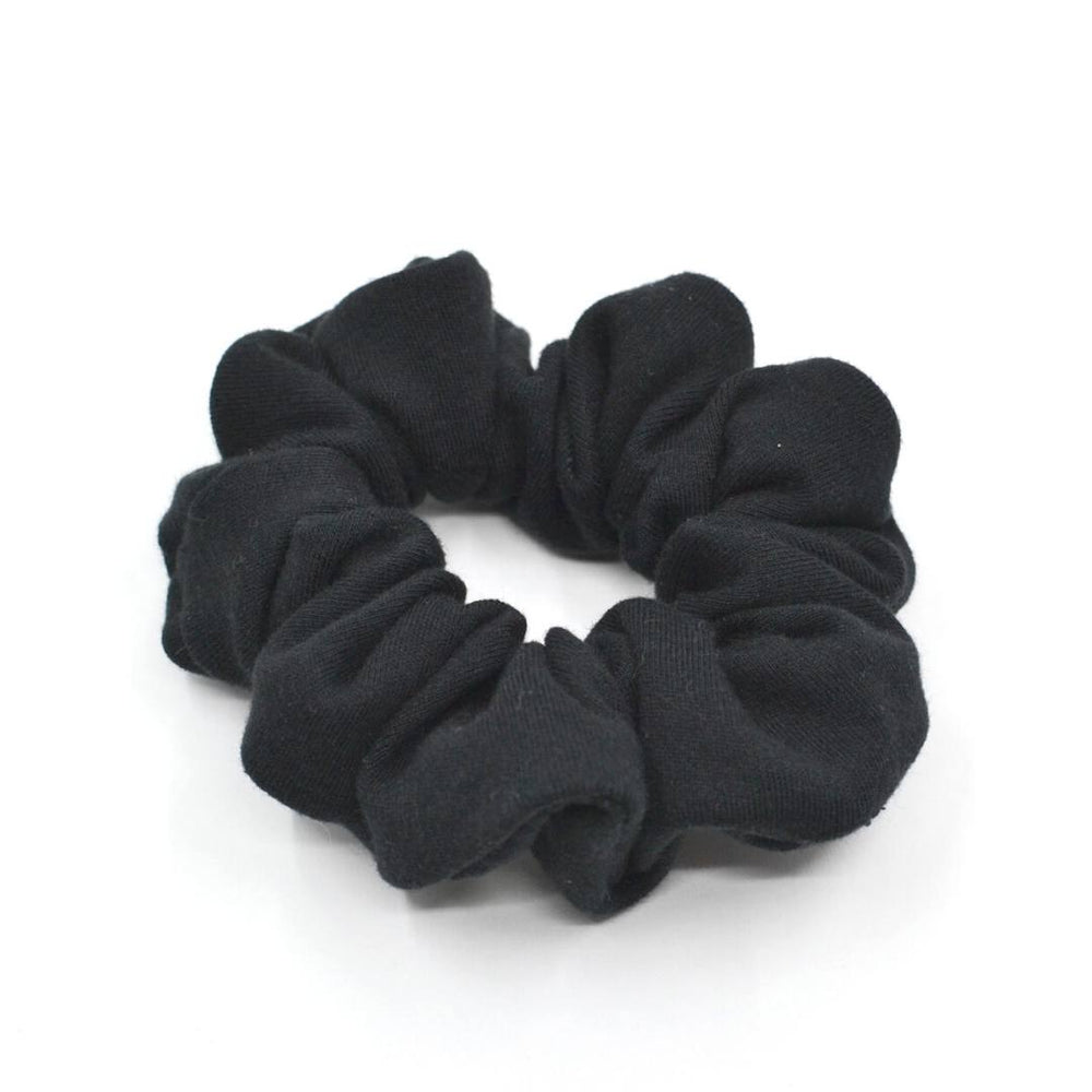 Black Knit Scrunchie