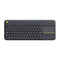 Logitech Teclado Inalámbrico para Android Smart TV, PC | Touchpad | USB