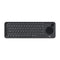 Logitech Teclado Inalámbrico para Smart TV, Smartphones, PC, Mac | 15 Metros | Touchpad | Bluetooth