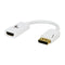 XTech Cable Adaptador DisplayPort Macho a HDMI Hembra