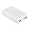 Mophie Power Bank Bateria Portatil para Smartphones y Tablets | 5200Mah | Blanco