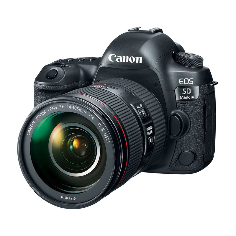 Canon EOS 5D Mark IV Cámara DSLR con Lente EF 24-105mm f/4L IS II USM | Full Frame