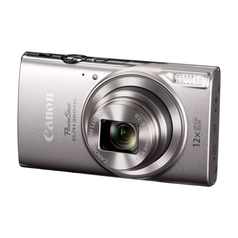 Canon PowerShot ELPH 360 HS Cámara Digital | 20.2MP | Full HD