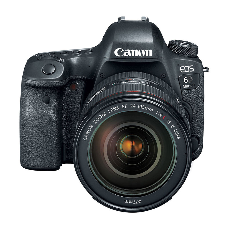 Canon EOS 6D Mark II Cámara DSLR con Lente 24-105mm f/4 IS II USM | Full Frame