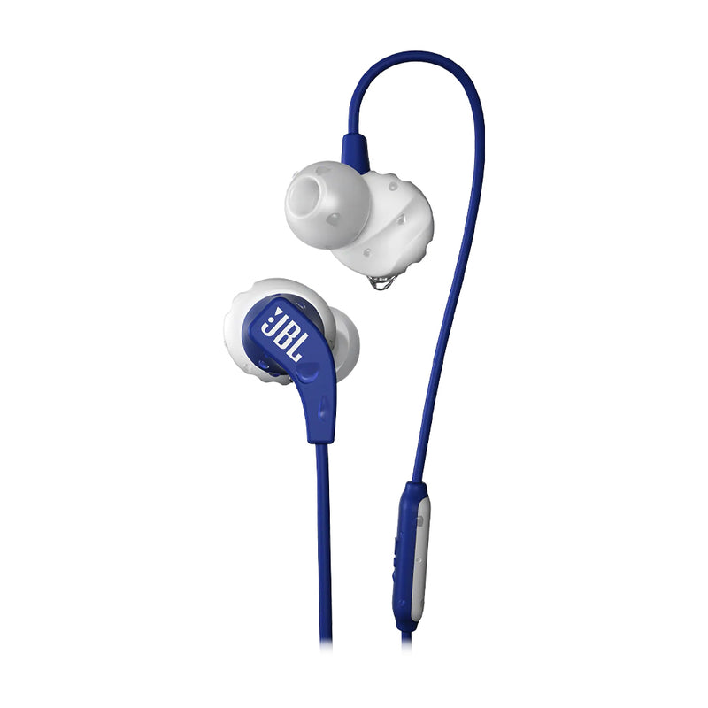 JBL Endurance RUN Wired Audífonos de Cable Deportivos | Azul