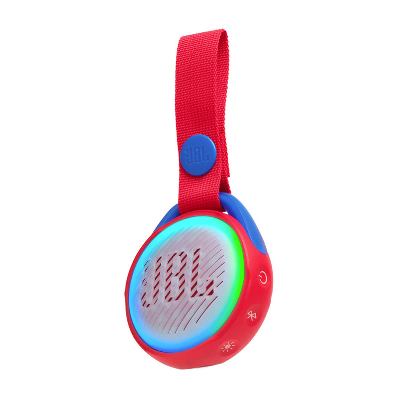 JBL Jr Pop Bocina Portátil Bluetooth Waterproof | Luces | Rojo
