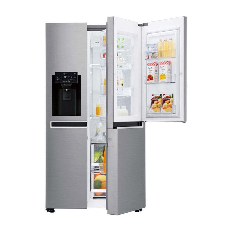 LG Refrigeradora Side By Side Door In Door Inverter Linear | Moist Balance Crisper | Dispensador de Agua y Hielo | 22p3