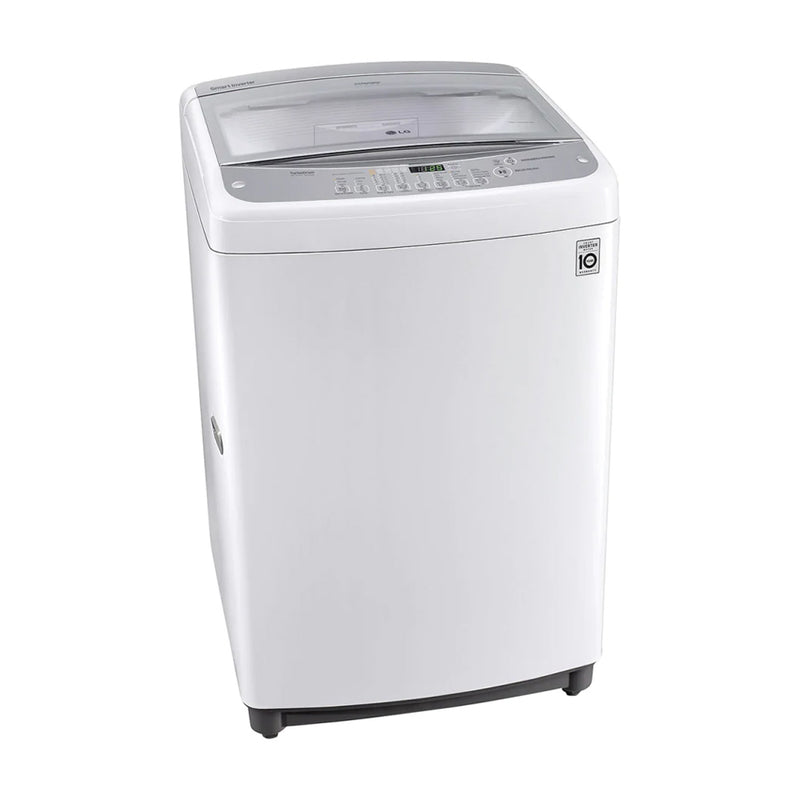 LG Lavadora Automática Smart Inverter de Carga Superior | Turbo Drum | Smart Motion | 17kg | Blanco