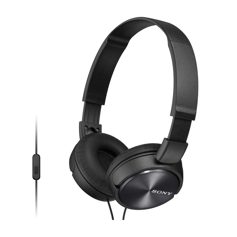 Sony MDR-ZX310 Audífonos On-Ear de Cable | Negro
