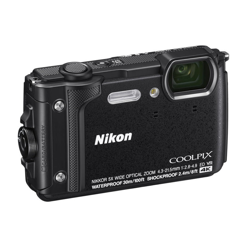 Nikon COOLPIX W300 Cámara Digital Waterproof | Negro