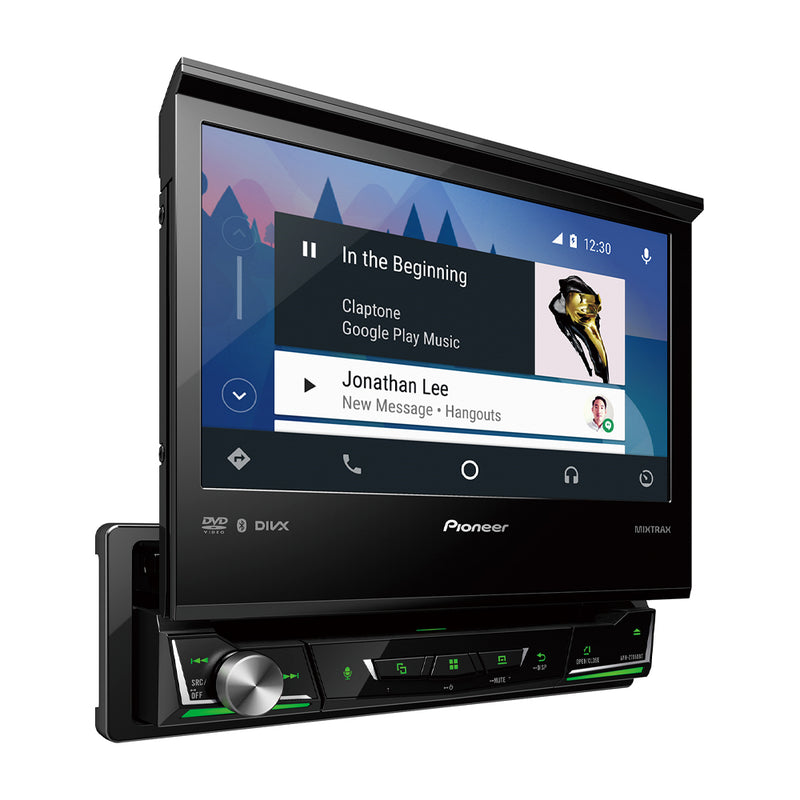Pioneer Reproductor Multimedia para Auto | Pantalla Táctil Retráctil Full HD de 7"