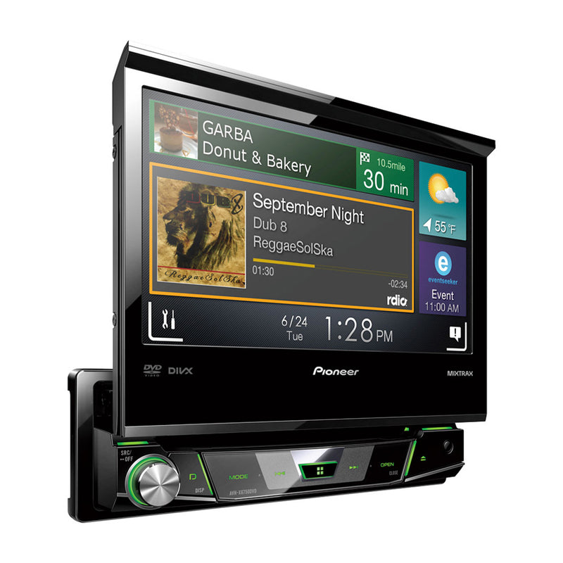 Pioneer Reproductor Multimedia para Auto | Pantalla Táctil Retráctil de 7"