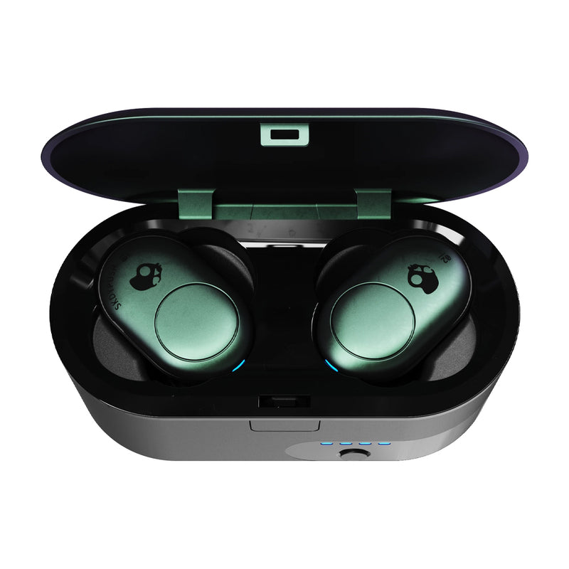 Skullcandy Push True Wireless Audífonos Inalámbricos Bluetooth | Negro Teal
