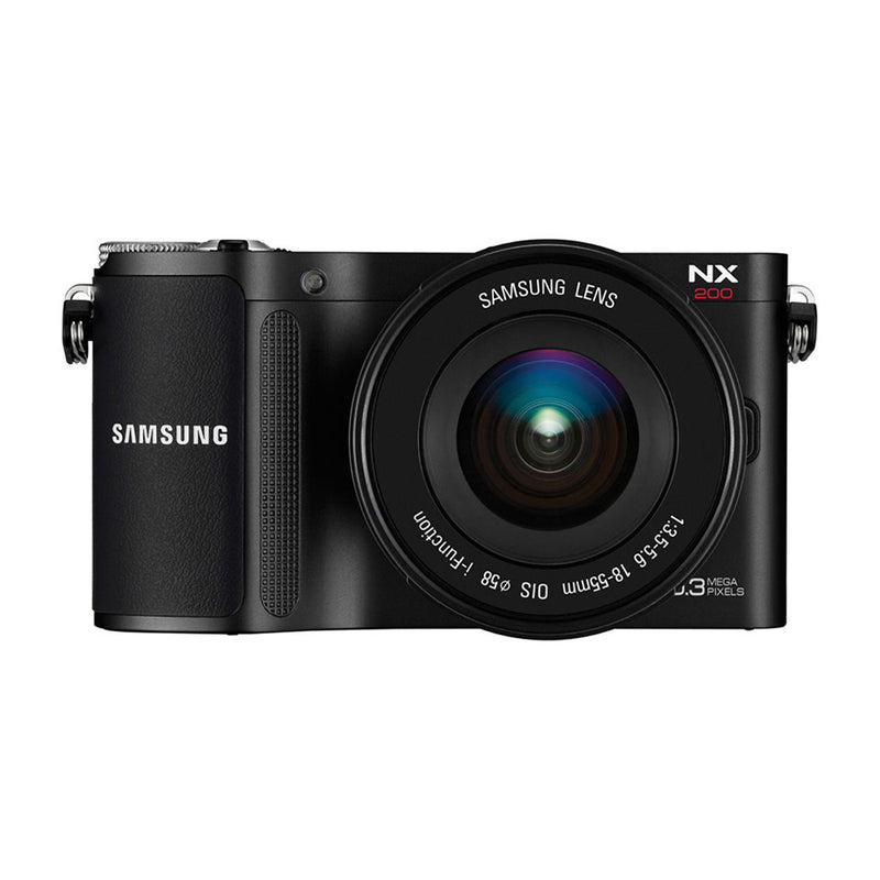 Samsung NX200 Cámara Digital Mirrorless con Lente 18-55mm