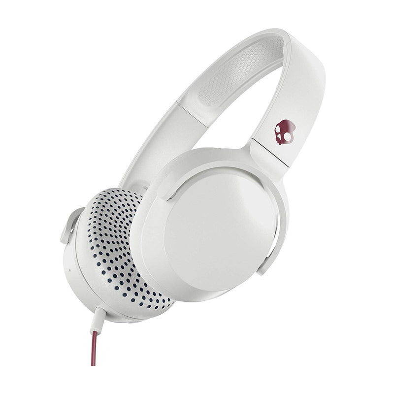 Skullcandy Riff Wired Audífonos On-Ear de Cable | Blanco