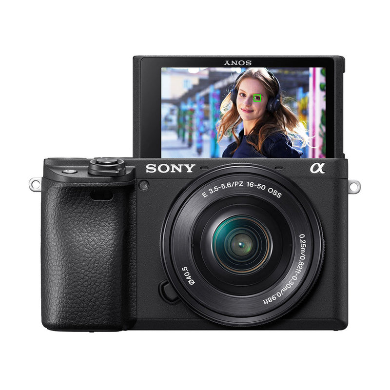 Sony a6400 Alpha Cámara Digital Mirrorless con Lente 16-50mm OSS | ILCE6400L