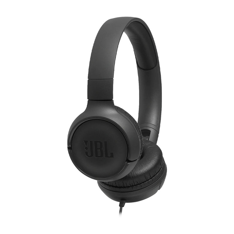 JBL Tune 500 Wired Audífonos On-Ear de Cable | Negro