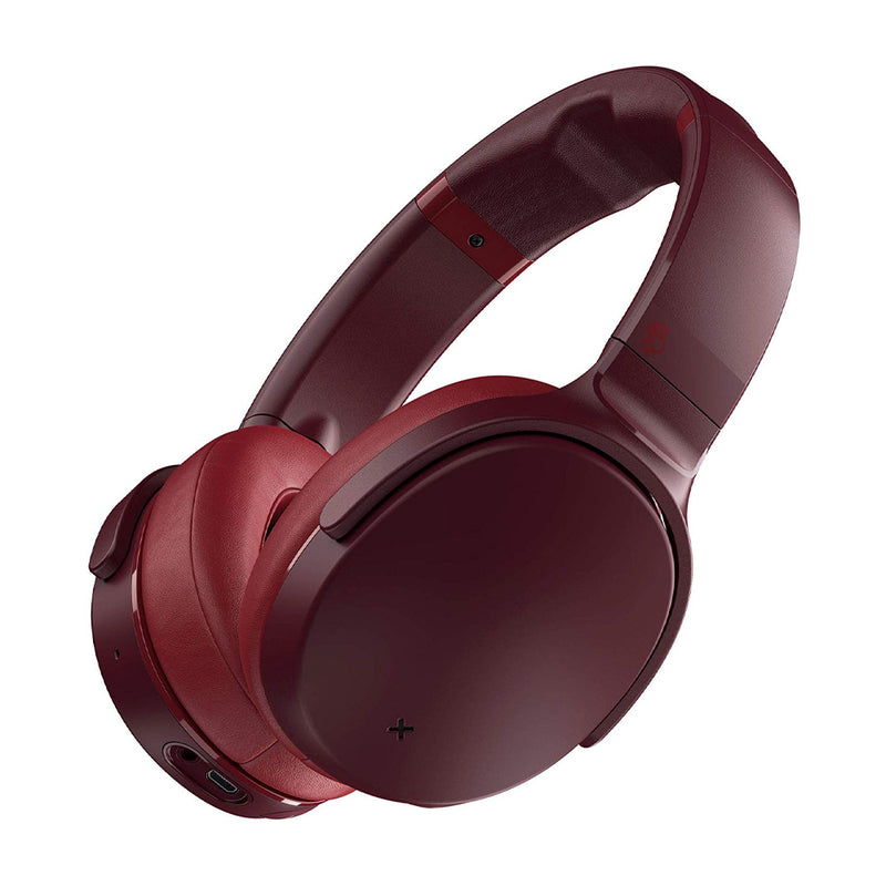 Skullcandy Venue Audífonos Inalámbricos Bluetooth Over-Ear | Active Noise Cancelling | Rojo