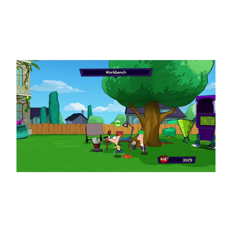 Phineas and Ferb: Quest for Cool Stuff Juego de Nintendo Wii U
