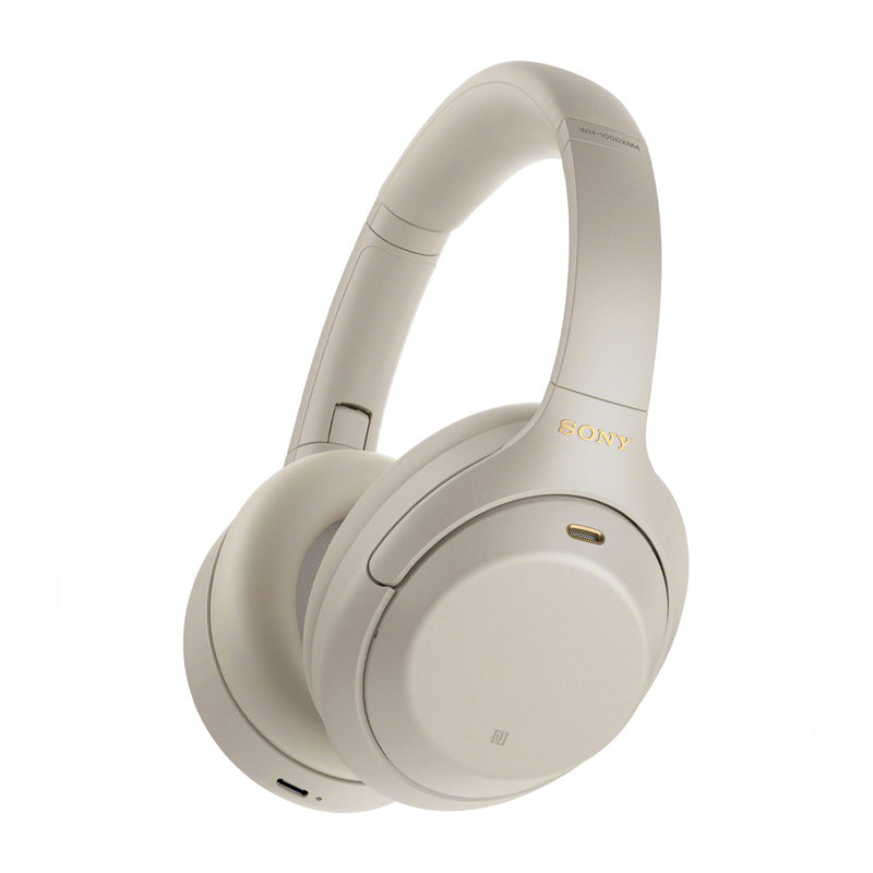 Sony WH-1000XM4 Audífonos Inalámbricos Bluetooth Over-Ear | Noise Cancelling | Silver