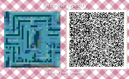 Tapestry Texture Tile Styklet for Animal Crossing