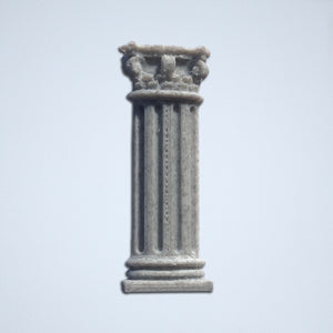 The Corinthian column sticker from Styklet in Gray.