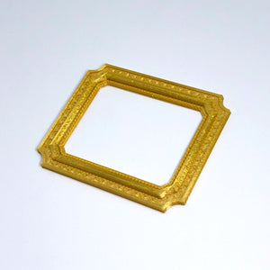 A Louvre frame 3D sticker from Styklet, shown at an angle.